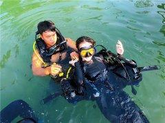 深圳海边潜水多少钱-海边潜水注意事项