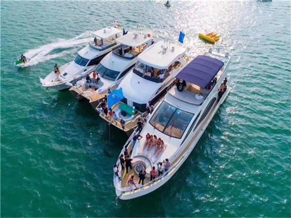 深圳游艇出租-为什么现在租游艇越来越便宜